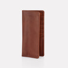 Brown Brooklyn Leather Slim Wallet