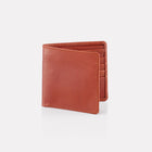 Tan Bridle Leather Notecase Wallet Front View