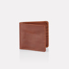 Brown Bridle Leather Notecase Wallet Front View