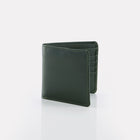 Green Bridle Leather Notecase Wallet Front View