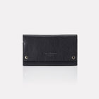 Black Finsbury Leather Travel Wallet
