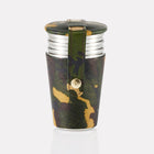 Sherwood Camo Leather 4oz Cup Set