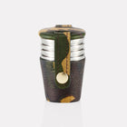 Sherwood Camo Leather 1oz Cup Set