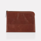 Brown Brooklyn Leather Large Pouch