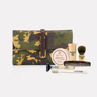 Sherwood Camo Leather Military Pack Complete