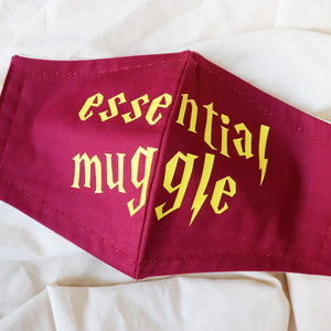 Harry Potter Essential Muggle Face Mask