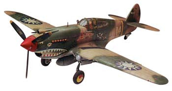 Revell 85-5209 1/48 P-40B Tiger Shark