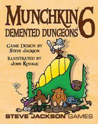 Munchkin 6: Demented Dungeons  Card Game