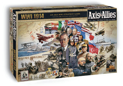 Avalon Hill Axis and Allies WW1 1914