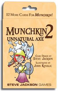 Munchkin 2: Unnatural Axe Card Game