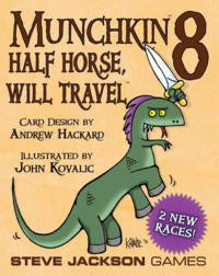 Munchkin 8: Half Horse, Will Travel Card Game