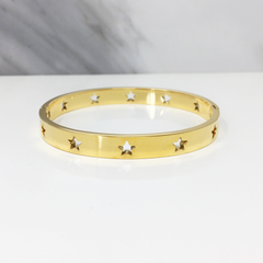 Pulsera Star Love Gold