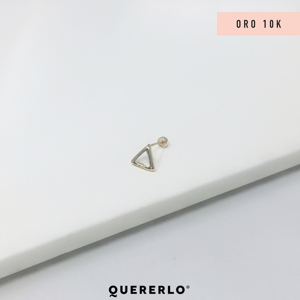 Piercing Triangulo Gold