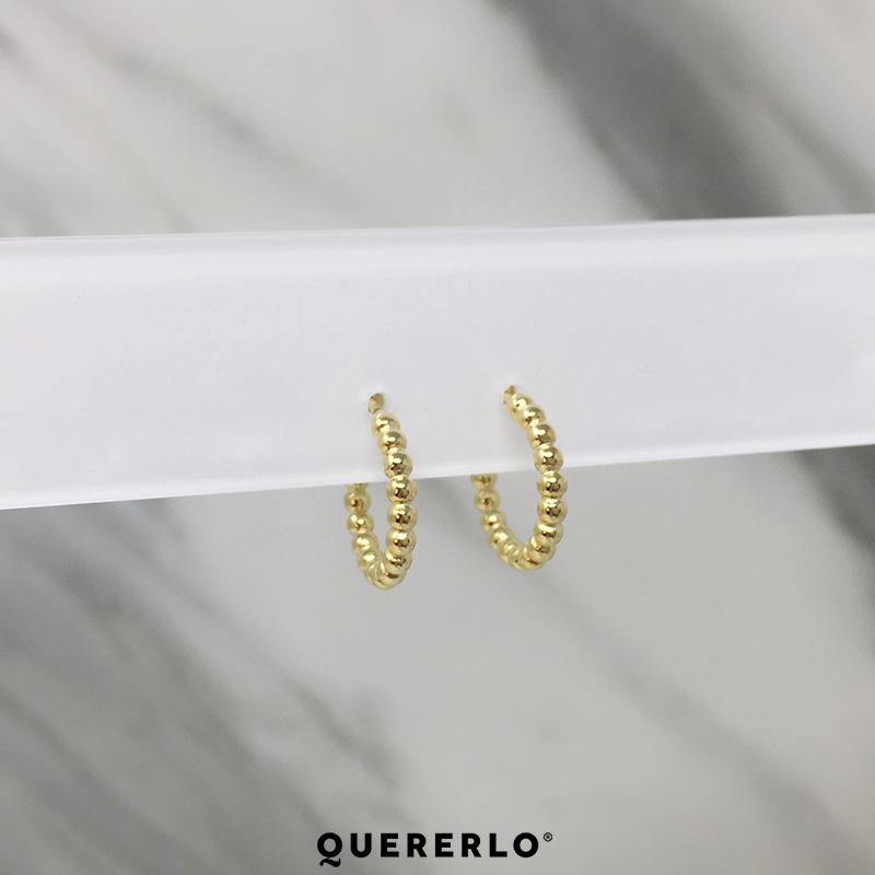 Aretes Golden Dots