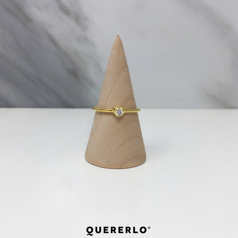 Anillo Mini Heart Gold