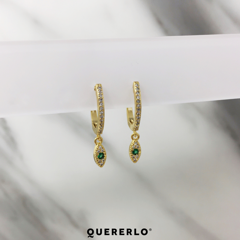 Aretes Ultra Eye Gold