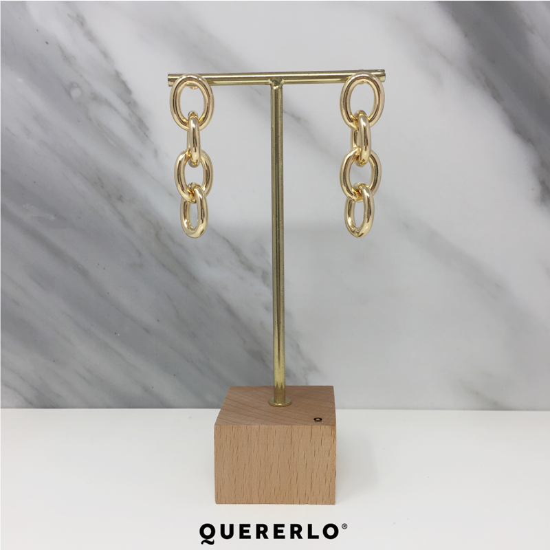 Aretes Laurie Chain