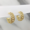 Aretes Wrap Hoops