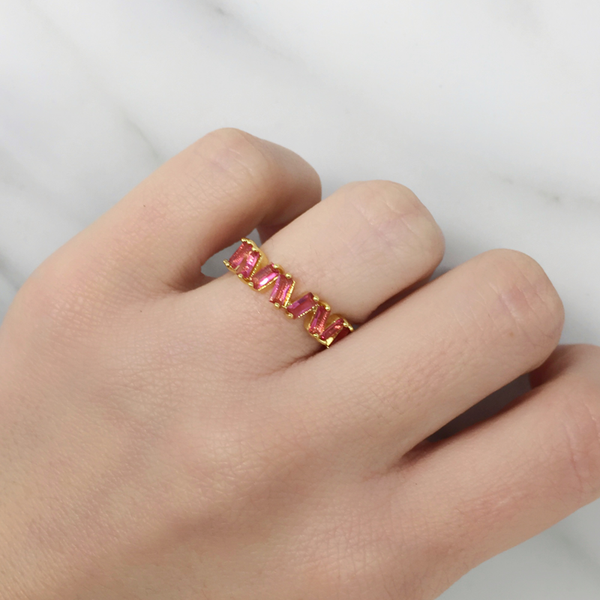 Anillo Fireworks Pink