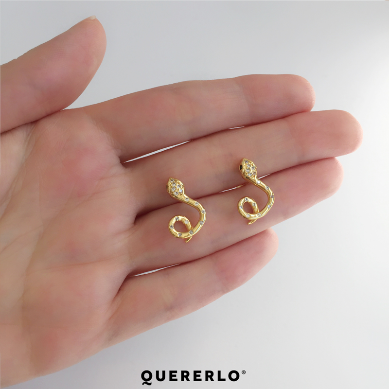 Aretes Baby Snakes
