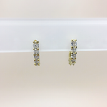 Aretes Diamond Gold
