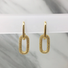 Aretes Madeline Big Gold