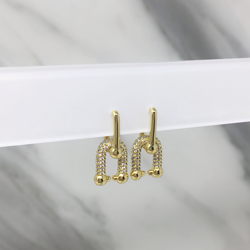 Aretes Madeline Gold