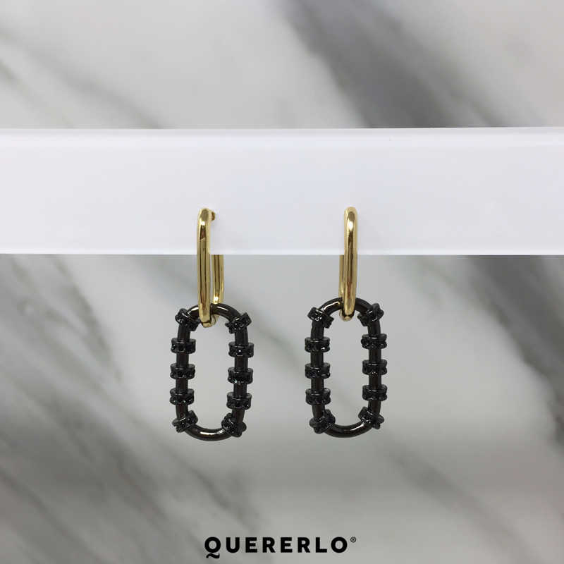 Aretes Cherie Hoops