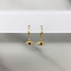 Aretes Eye Zafiro