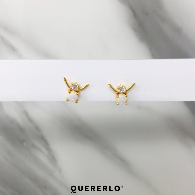 Aretes Opal Wings