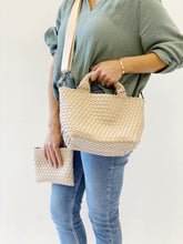 Load image into Gallery viewer, Crossbody Woven Neoprene in Sand