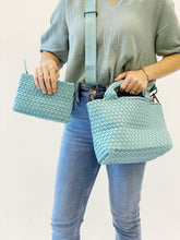 Load image into Gallery viewer, Crossbody Woven Neoprene in Aquamarine