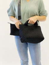 Load image into Gallery viewer, Crossbody Woven Neoprene in Black