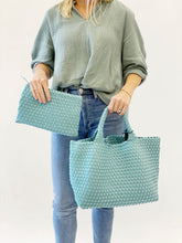 Load image into Gallery viewer, Medium Woven Neoprene in Aquamarine