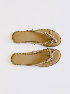 Bahama Mama Sandal in Tan