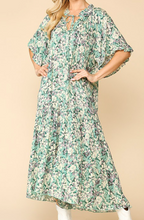Load image into Gallery viewer, Seafoam Maxi Dress