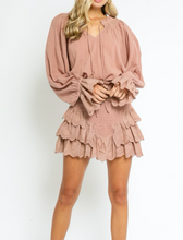 Load image into Gallery viewer, Fun and Flirty Skirt in Blush