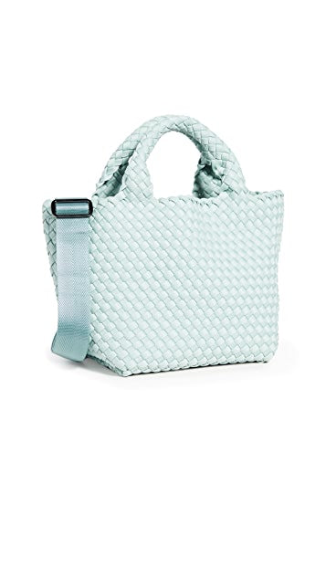 Crossbody Woven Neoprene in Aquamarine