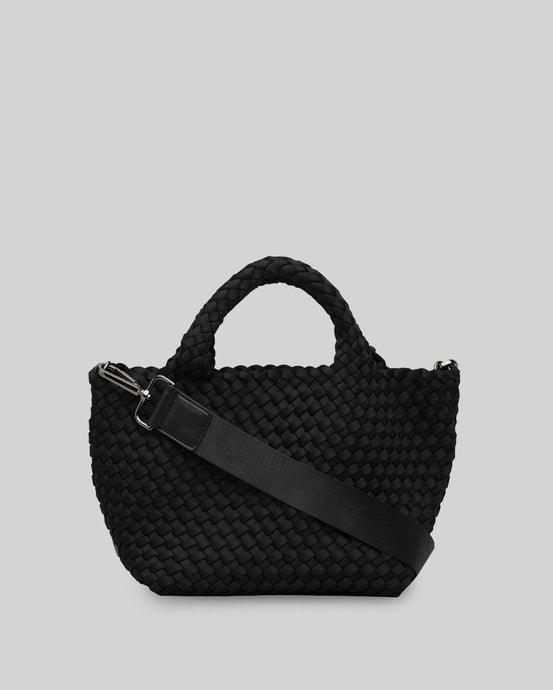 Crossbody Woven Neoprene in Black