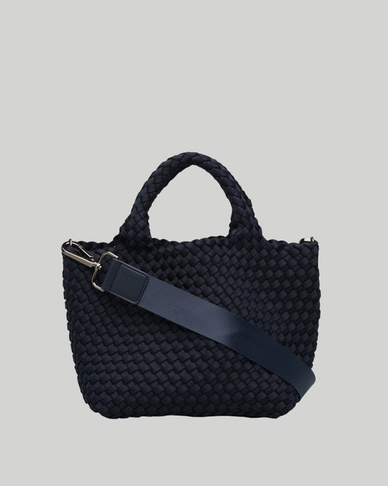 Crossbody Woven Neoprene in Midnight