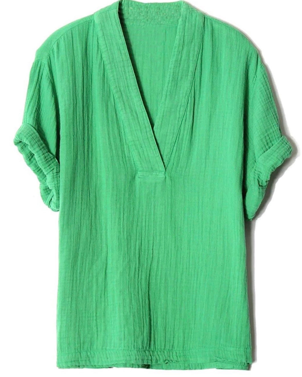 Kelly Green Willow Top