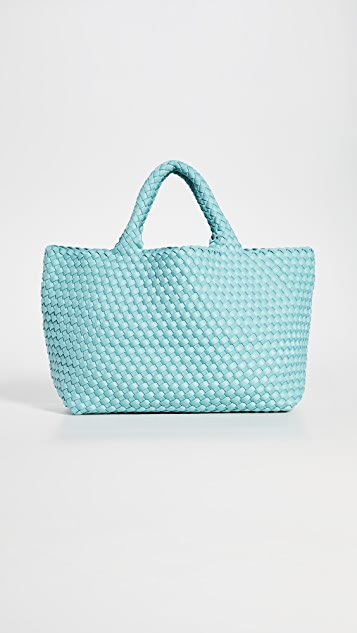Medium Woven Neoprene in Aquamarine