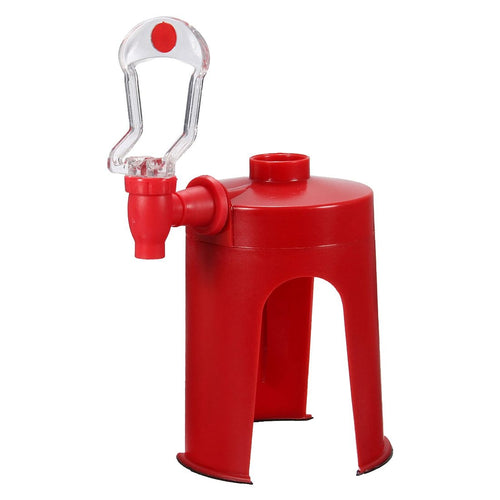 AIMA Soda Dispenser Fizz Dispenser Drink Dispenser Water Dispenser Party Cola Sprite, Red