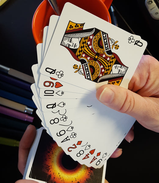 Singularity: Black Tie(S) playing cards