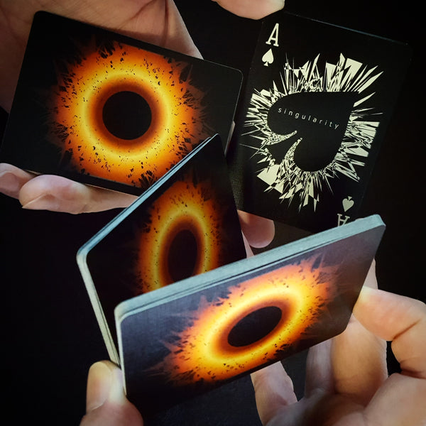 Singularity: Black Edition playing cards