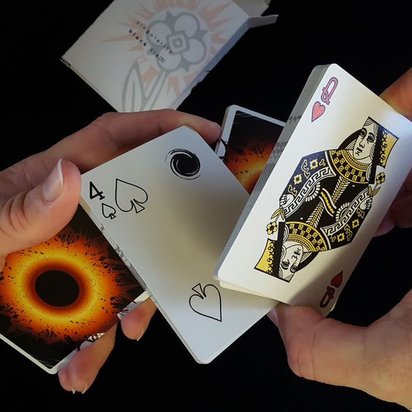 Singularity: Black Tie(S) playing cards -- NEW RELEASE!