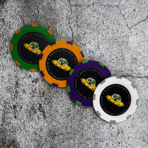 Galactic Paradise poker chip set
