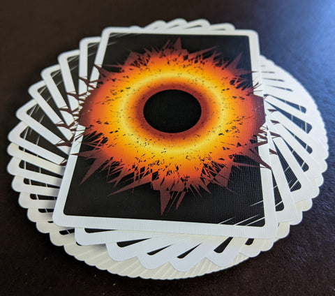 Singularity: Black Tie(S) playing cards -- 48 hour SALE!