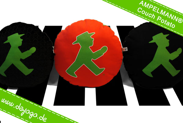 AMPELMANN® Couch Potato 'noble' - Rundkissen
