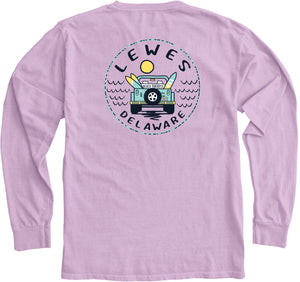 CONCURRENCE JEEP WAVE SUN LONG SLEEVE TEE